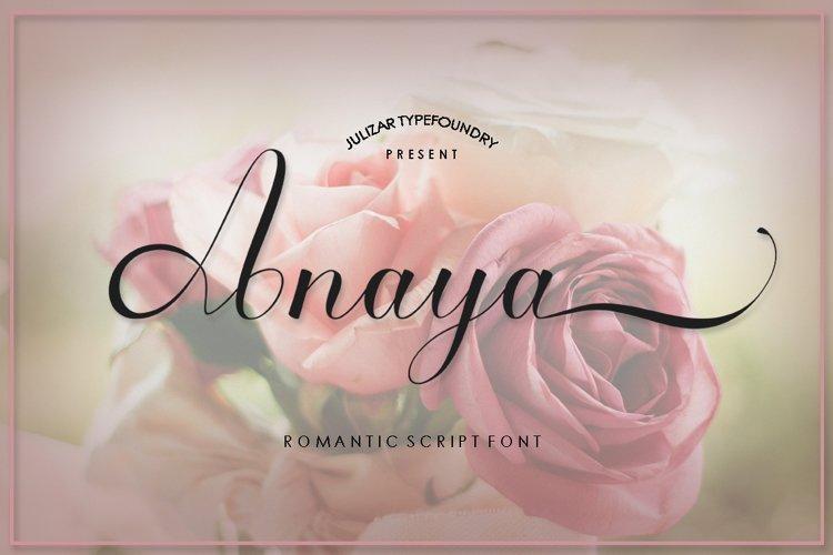 Anaya script example image 1