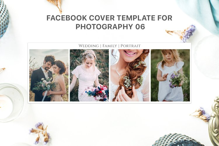 Facebook Cover Template for Photography 06 example image 1