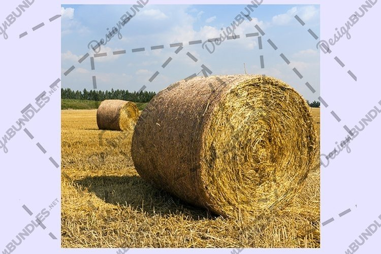 Round haystacks example image 1