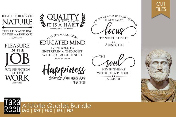 Aristotle Quotes Bundle example image 1