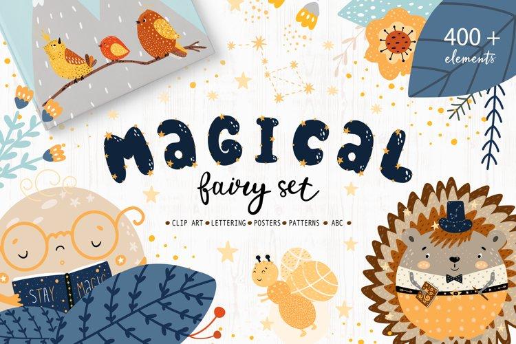 Magical Fairy Set book creator