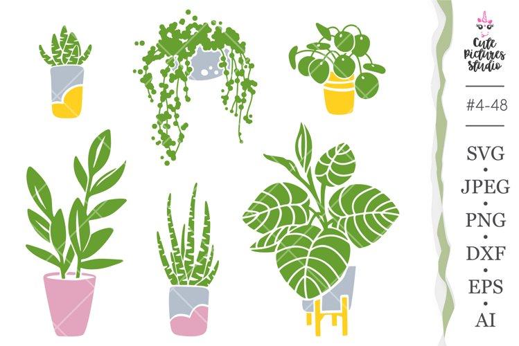 Home Plants Cricut SVG cut file bundle, Home Plants clipart