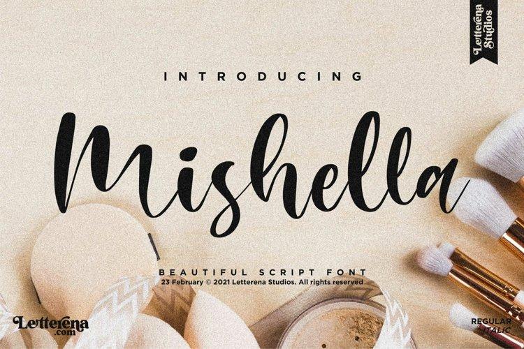 Mishella - Beautiful Script Font example image 1