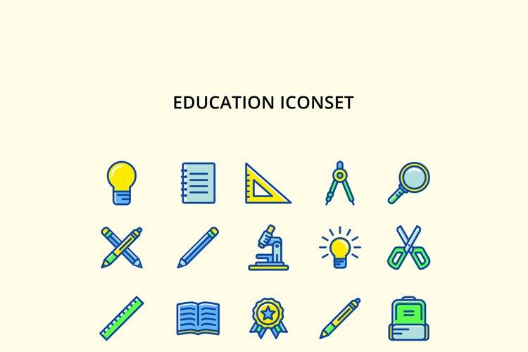 Education Iconset example image 1