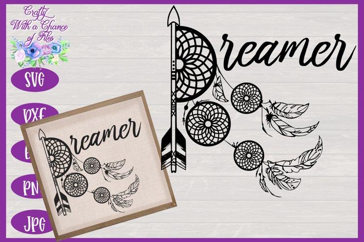 Dreamer SVG | Bohemian SVG | Nursery Decor SVG | Tribal SVG