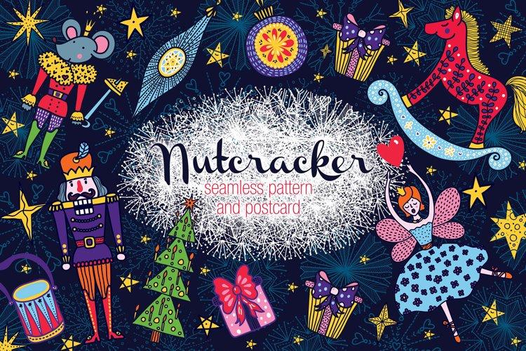 Nutcracker. Christmas story.