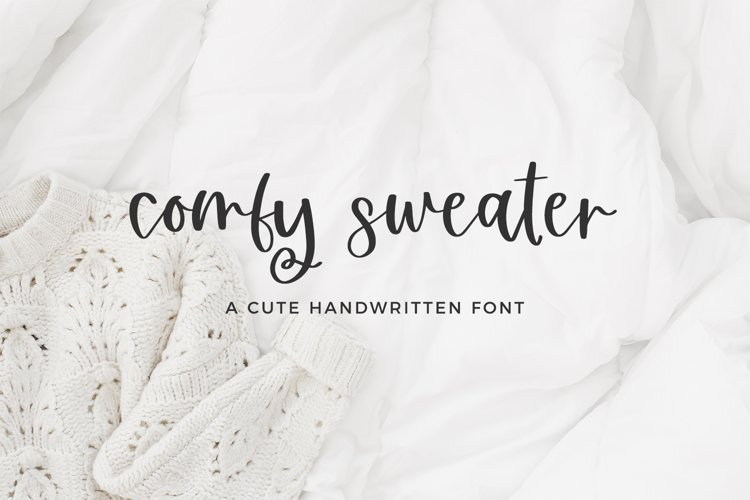 Comfy Sweater Script example image 1