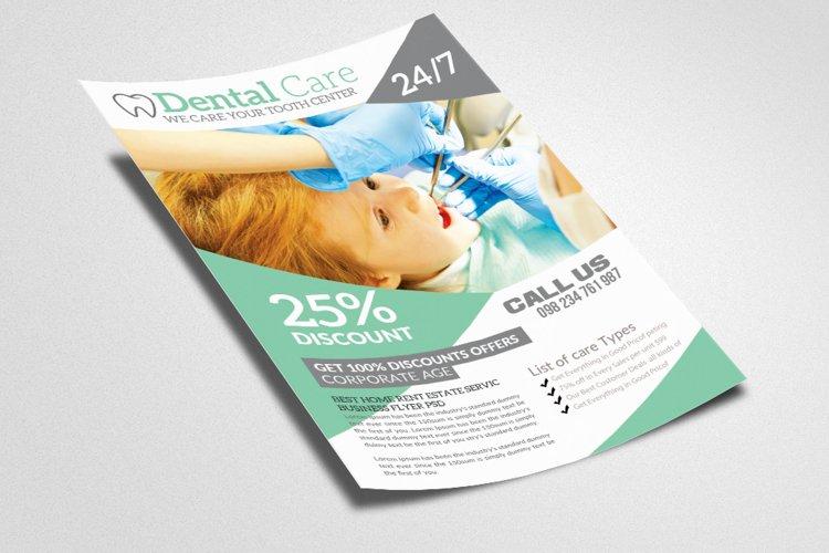 Medical Dental Flyer Templates example image 1
