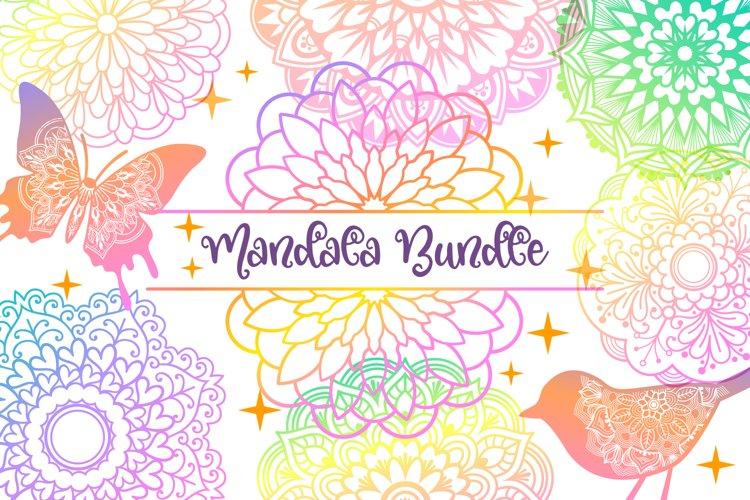 Mandala SVG Files Bundle - 40 Cut Files