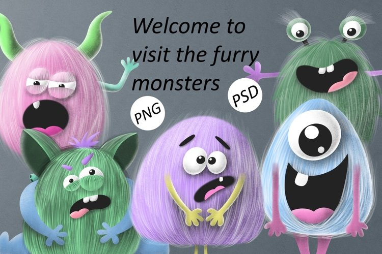 Furry monsters example image 1