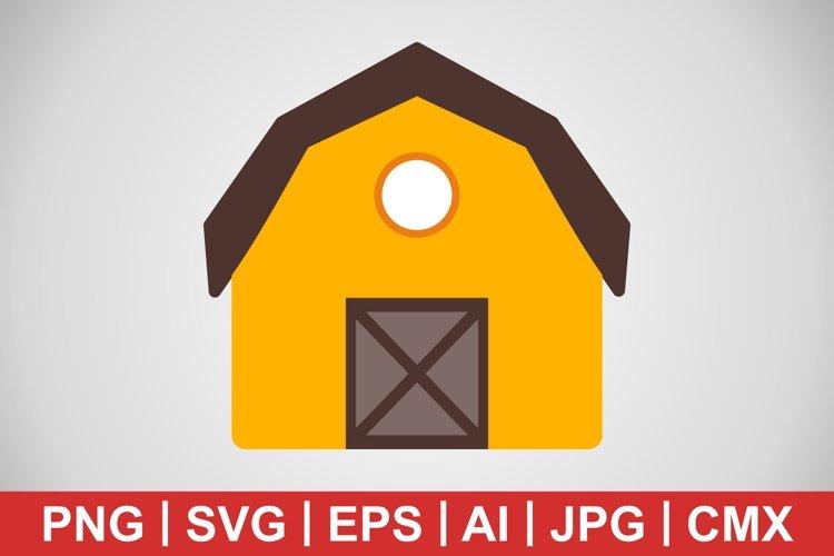 Vector Barn Icon example image 1