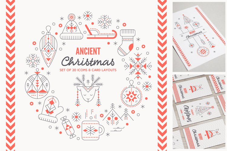 Ancient Christmas: Design Collection example image 1