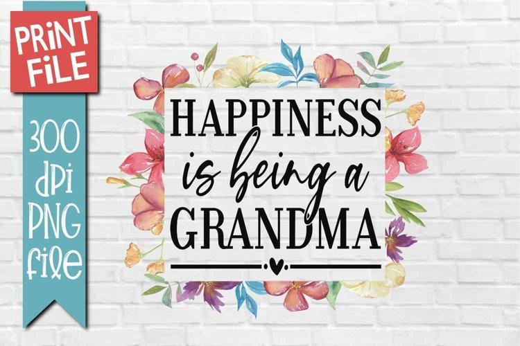 Grandma Sublimation Design example image 1