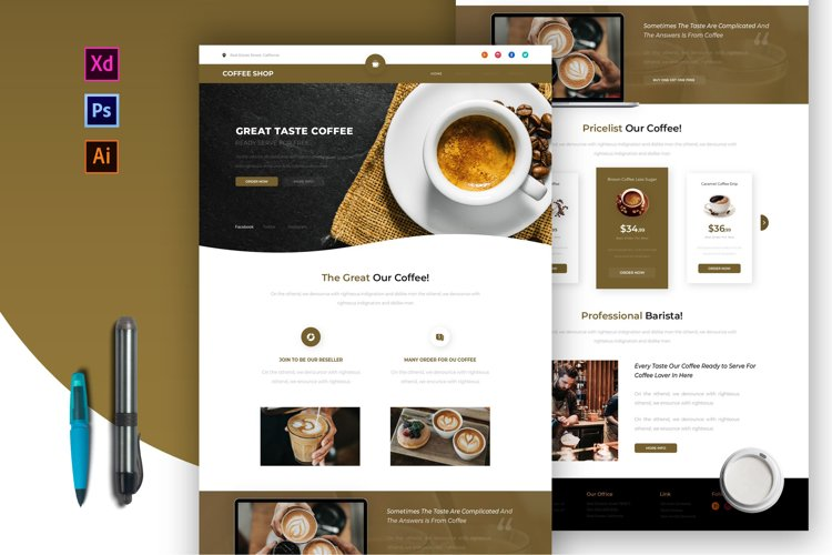 Coffee Shop | Email Newsletter Template example image 1