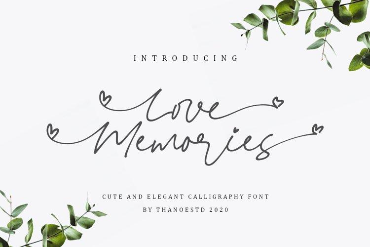 Love Memories example image 1