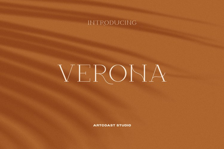 Verona - Elegant Display Serif