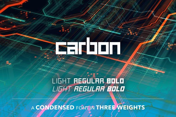 SB Carbon Condensed example image 1