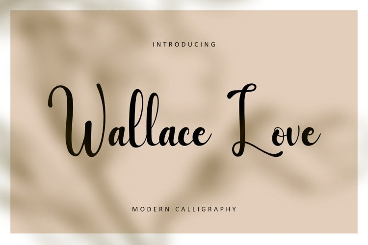 Wallace Love example image 1