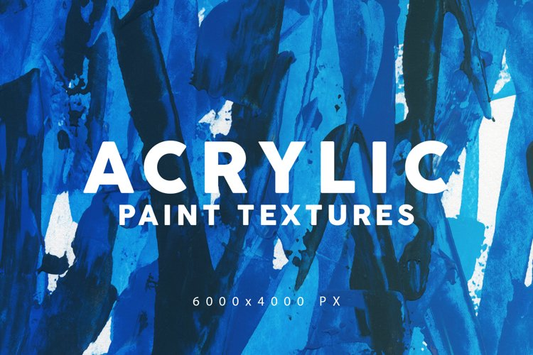 Acrylic Paint Textures 3 example image 1