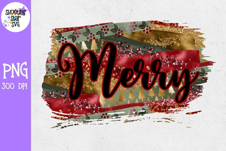 Merry Christmas Sublimation - Christmas Sublimation