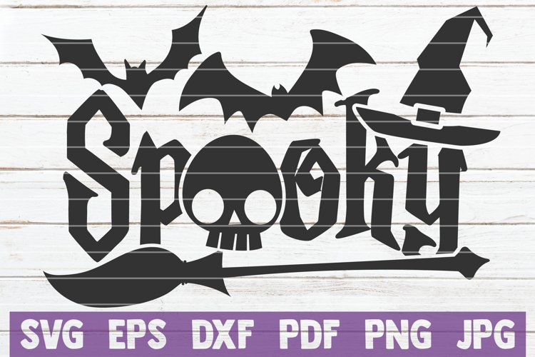 Spooky SVG Cut File example image 1