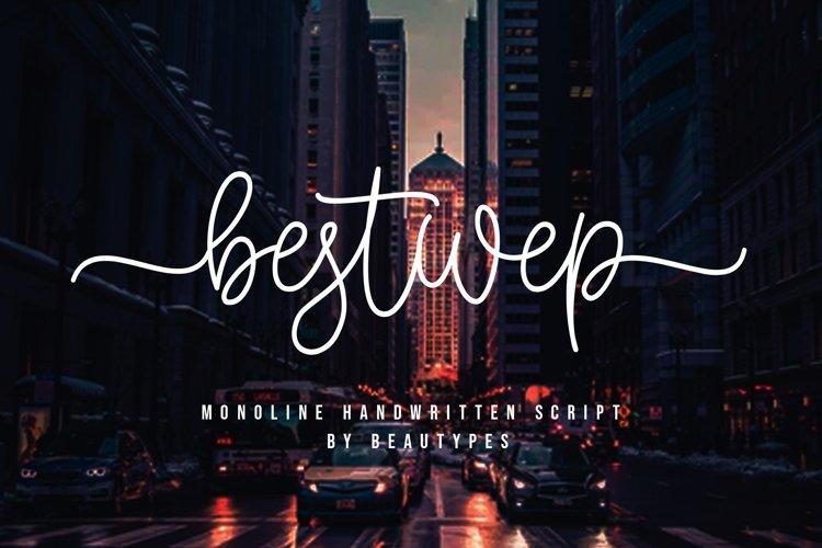 Bestwep | Monoline Handwritten Script example image 1