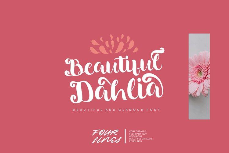 Beautiful Dahlia example image 1