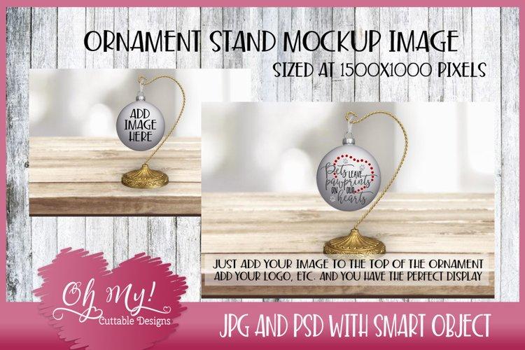 Ornament Stand Mockup - Display
