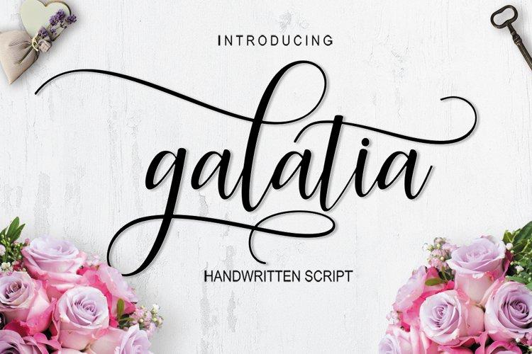 Galatia Script example image 1