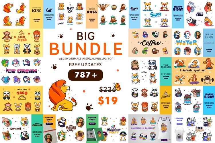 Big Animals Bundle example image 1