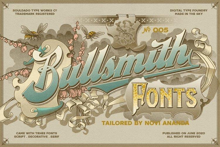NS BULLSMITH Fonts