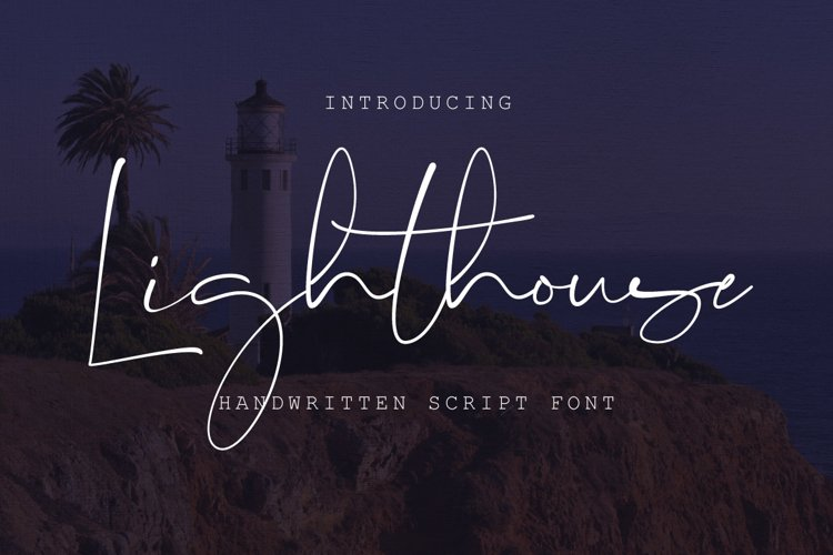 Lighthouse Script Font example image 1