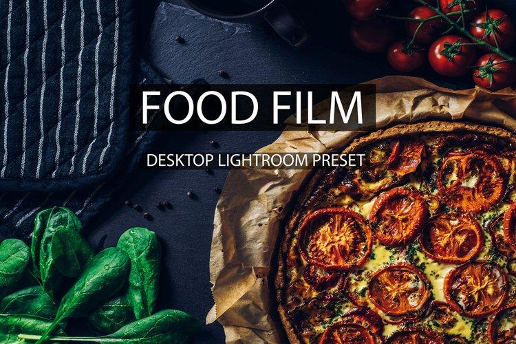 12 Desktop Lightroom Presets - Food Film example