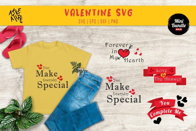 Valentine's SVG Bundle   SVG Bundle   Cricut   Silhouette example image 1