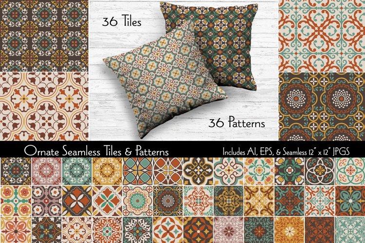 Ornate Seamless Tiles & Patterns