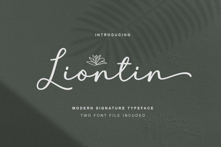 Liontin Script example image 1