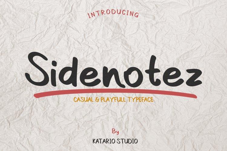 Sidenotez example image 1