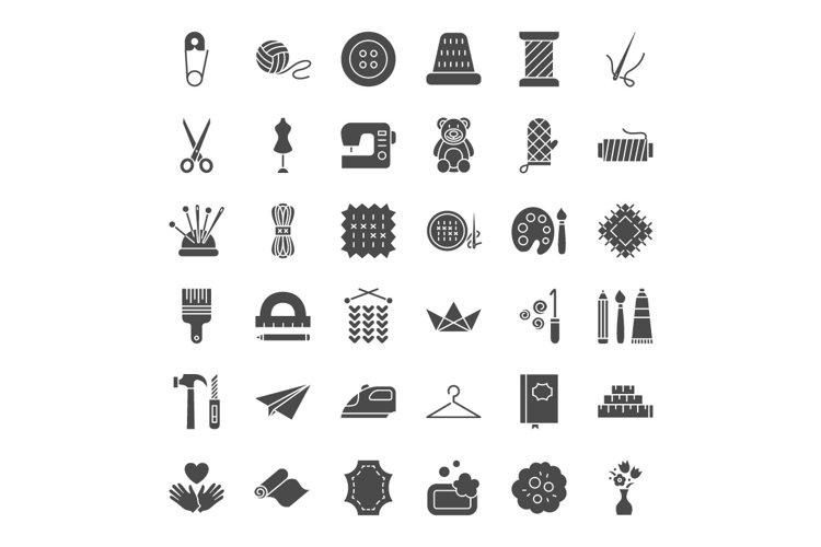Handmade Line Art Icons example 2