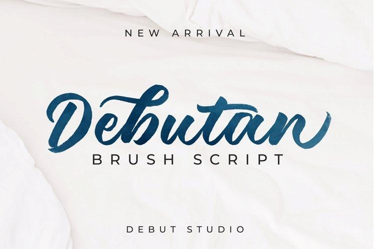 Debutan Brush Script example image 1