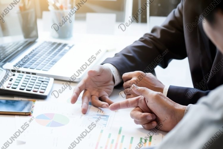 Startup business teamwork meeting concept. example image 1