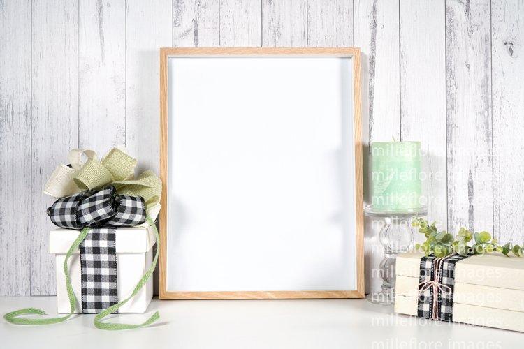 Farmhouse Art Print Frame & Gift Craft Mockup Styled Photo