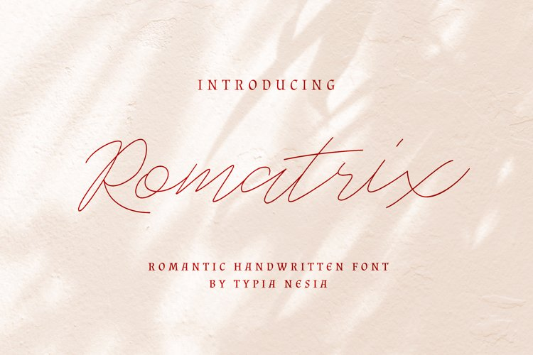 Romatrix example image 1