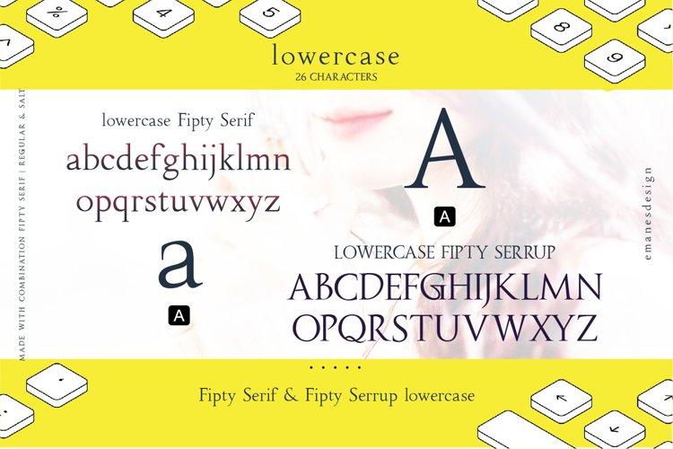 Fipty Serif Font Family example 14