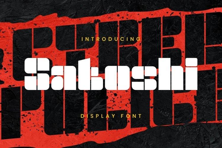 Satoshi Font example image 1