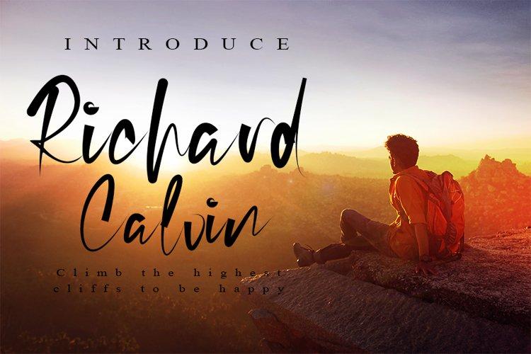 Richard Calvin example image 1