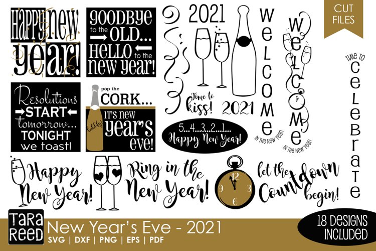 New Year's Eve Bundle example image 1