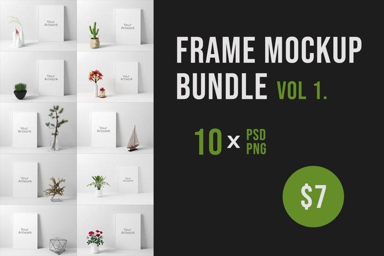 Frame Mockup Bundle Vol. 1