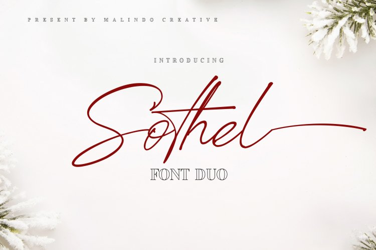 Sothel Font Duo example image 1