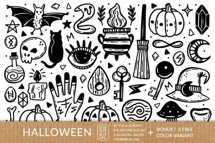 Ink Halloween Png Eps Jpeg Svg Dxf 854833 Illustrations Design Bundles