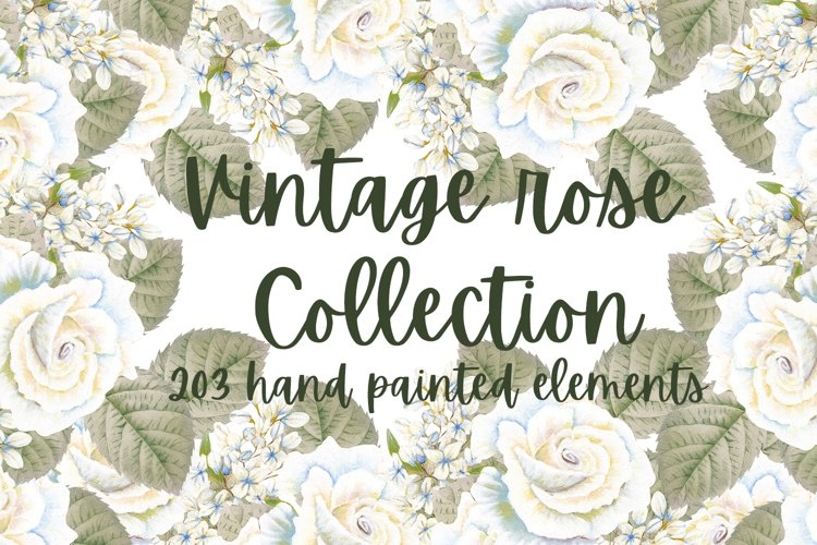 Vintage Rose Collection example image 1